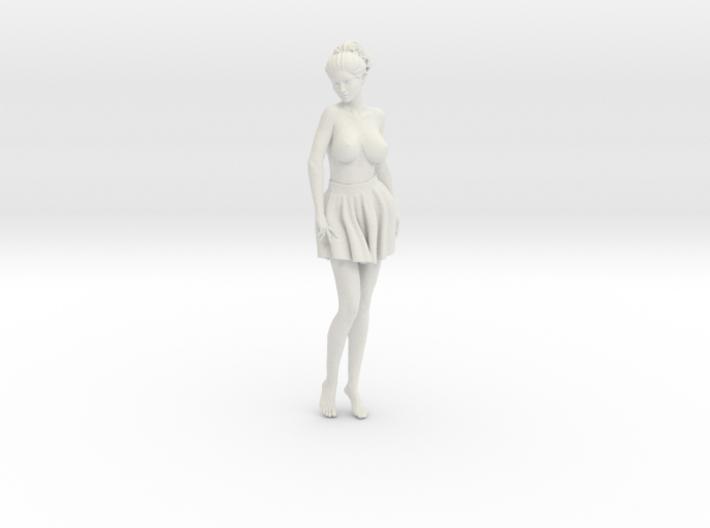 Miniskirt Girl 021-1/10 3d printed