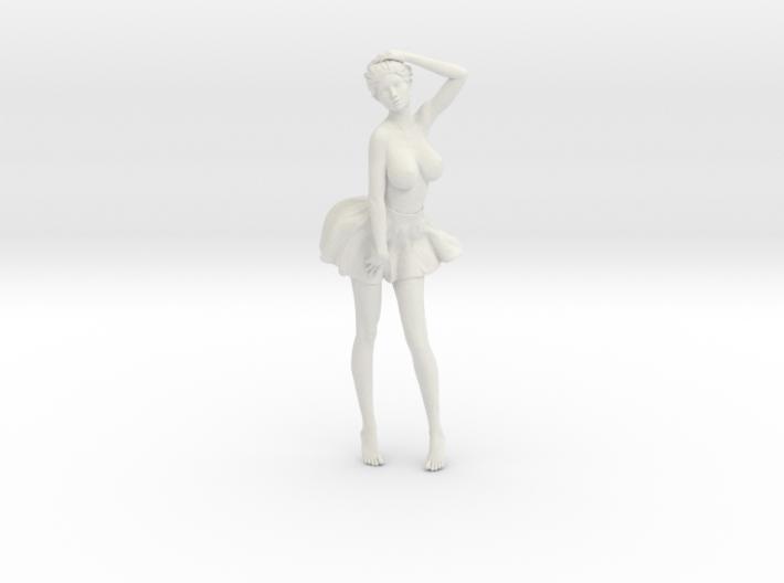 Miniskirt Girl 029-1/10 3d printed