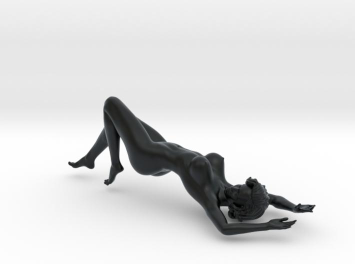 Girl with sofa 002 1/18 3d printed