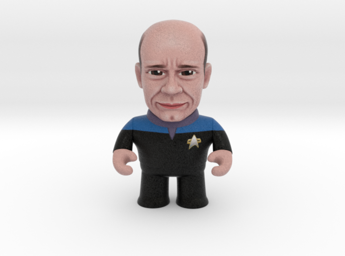 EMH Doctor Star Trek Caricature 3d printed EMH Doctor