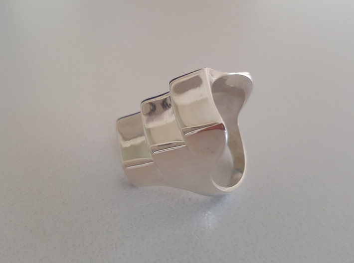 Armour Ring Sizes 5-13 3d printed