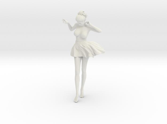 Miniskirt Girl 016-1/10 3d printed
