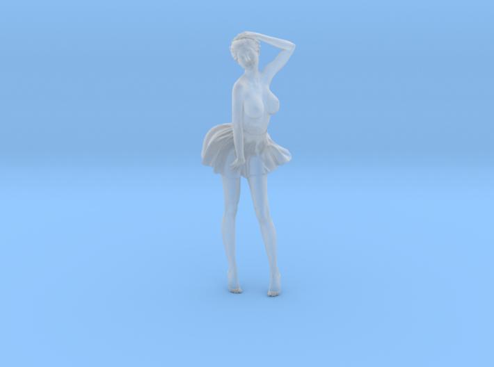 1/24 Miniskirt Girl 029 3d printed