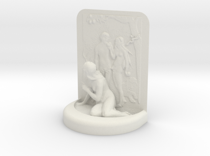 Adam And Eve classic 3d printed