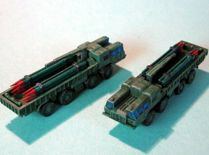 9T234 Smerch Ammo Truck 1/285 6mm 3d printed