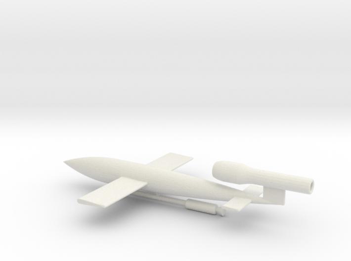 1/144 Scale JB-2/LTV-N-2 Loon Missile 3d printed