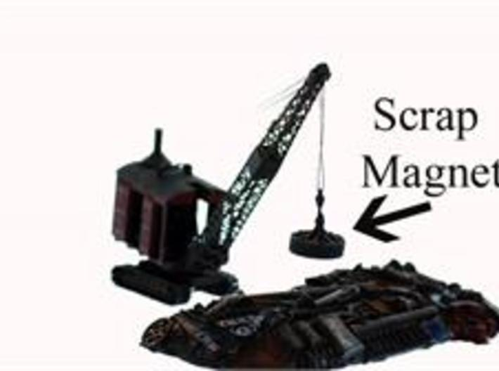 HO Crane Scrap Metal Magnet 1/87 scale 3d printed