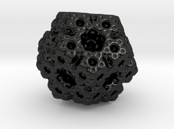 Dodecahedron Fractal Art 3d printed