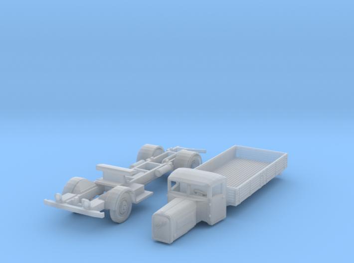 Henschel 6J2 Pritsche (N 1:160) 3d printed