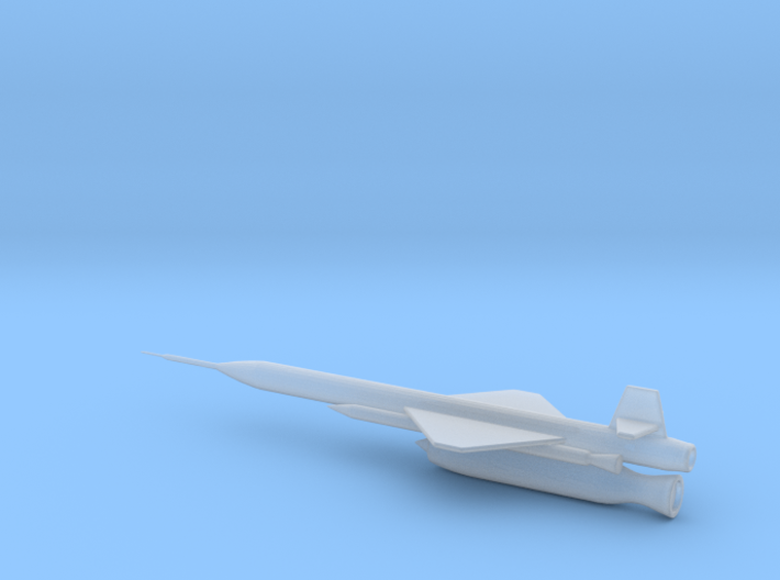 1/110 Scale X-7 Missile 3d printed