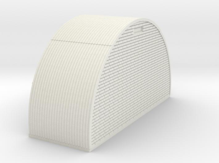 N-87-complete-nissen-hut-end-brick-16-36-1a 3d printed