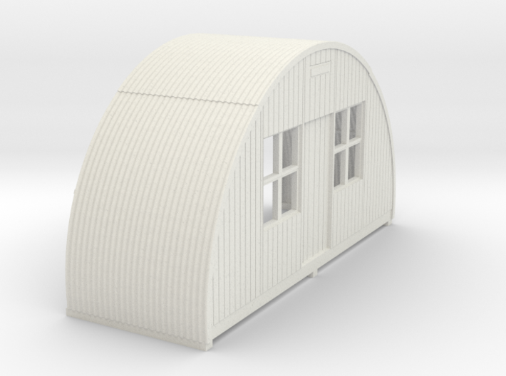 N-87-complete-nissen-hut-front-16-36-1a 3d printed