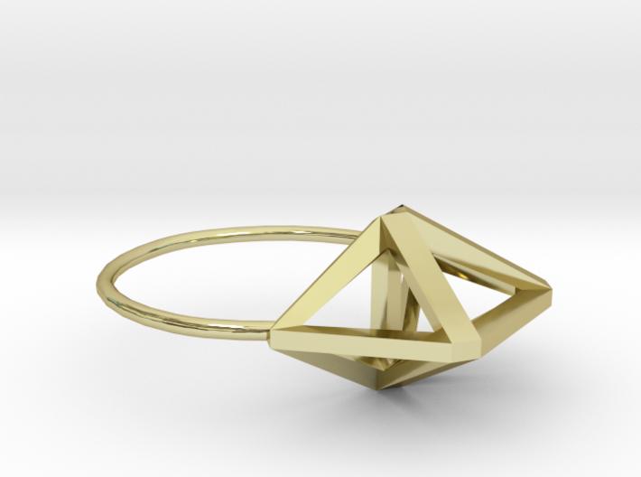 Amplituhedron Ring  3d printed