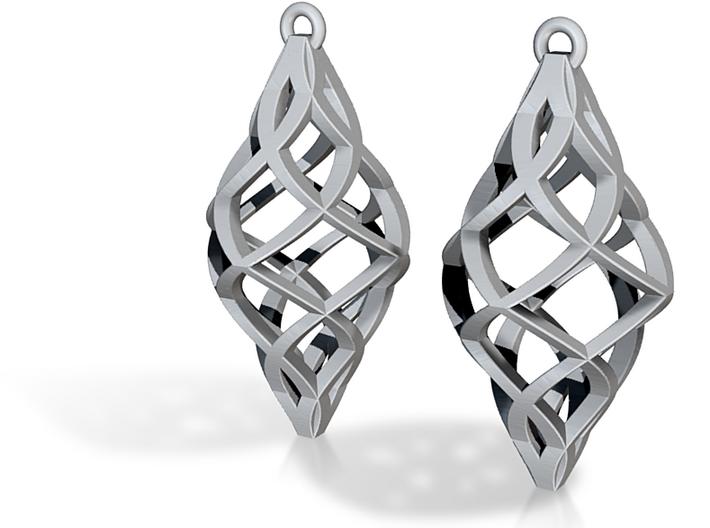 Capriccio Earrings 3d printed