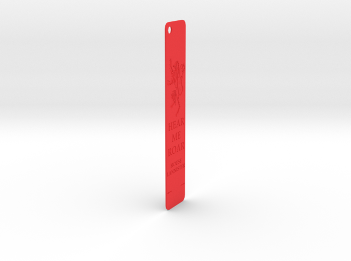 Lanister Bookmark 3d printed