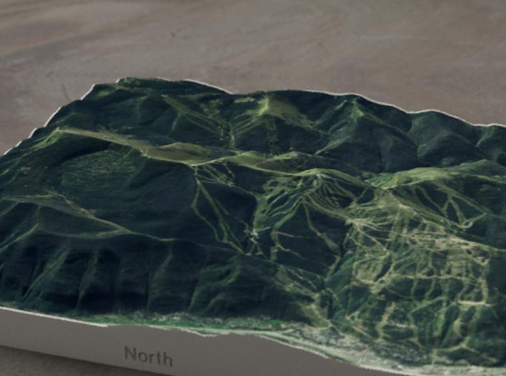 Vail, Colorado, USA, 1:50000 3d printed