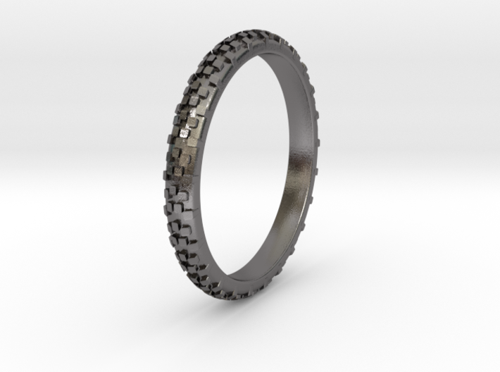 Dirt Bike Tire Ring 3d printed