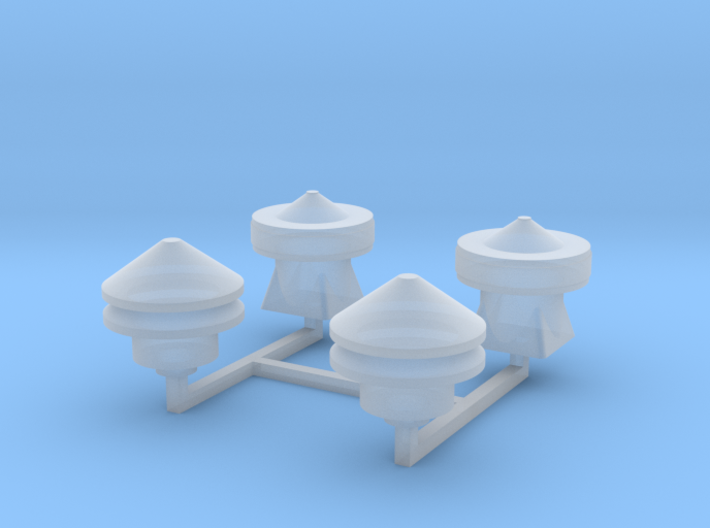 Tower 106-107 Roof Details 3d printed