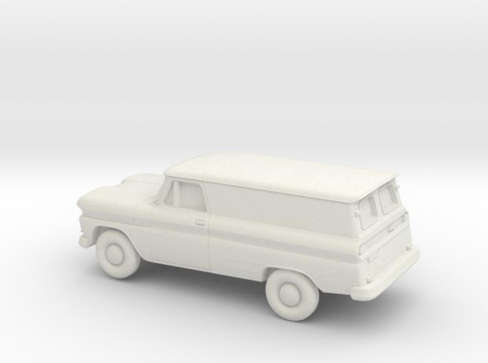 1/87 1960-61 Chevrolet Panel 3d printed