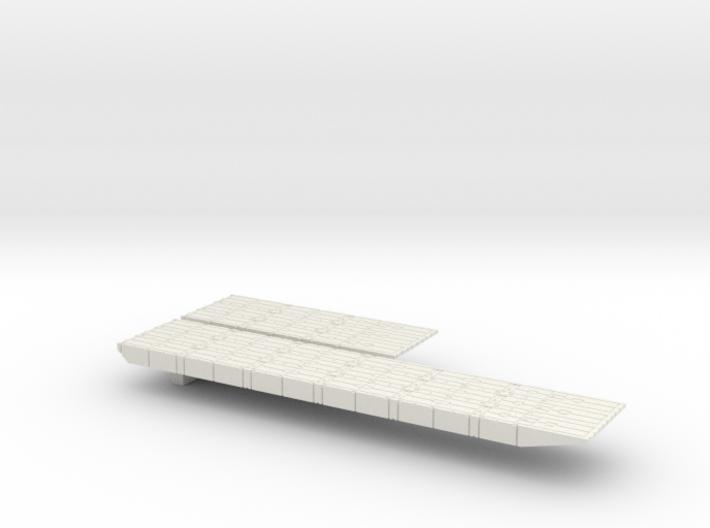 1/700 Scale Mexeflote Plain 3d printed