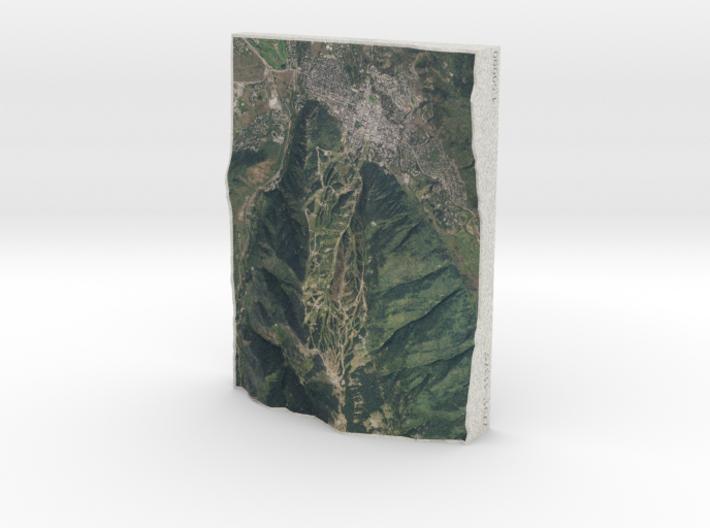 Aspen Mountain, Colorado, USA, 1:50000 3d printed