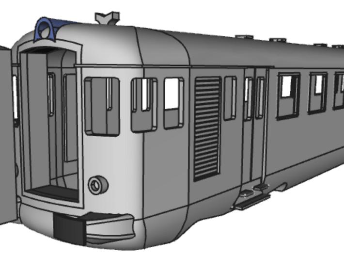 ALn773 Prima Serie 3d printed con tappo a porte chiuse