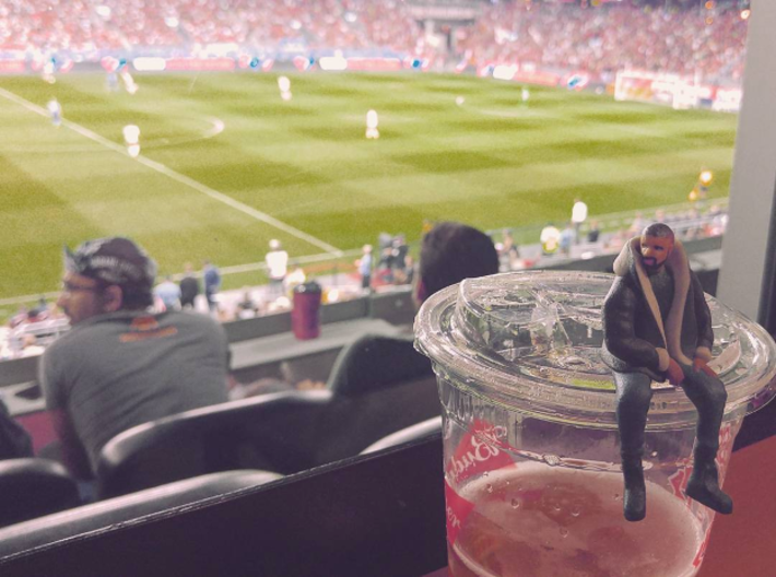 Drake | Tiny Views 3d printed Drake takes in #Views of the TFC