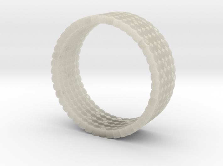 Pierced Picot Ring 3d printed