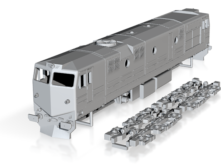 RenFe 1900 Class 1:87 Scale 3d printed