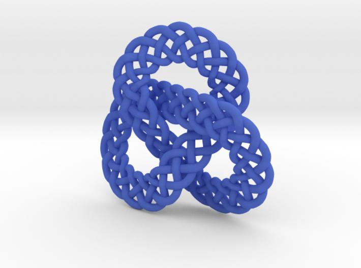 Celtic Knot Trefoil Pendant 3d printed