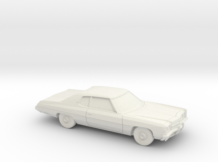 1/64 1972 Chevrolet Impala Coupe 3d printed