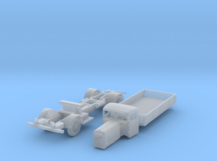 Henschel 6J2 Pritsche (TT 1:120) 3d printed