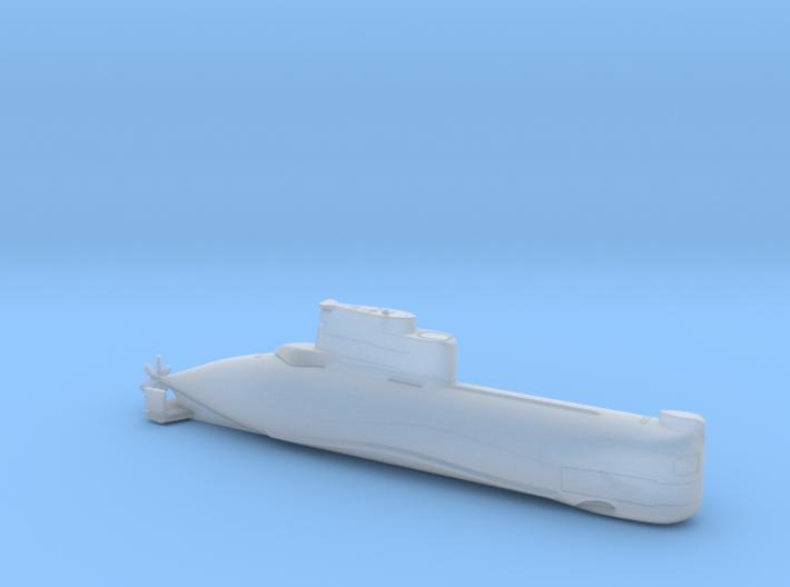 1/700 U-Boot Typ 202   German Submarine Type 202 3d printed