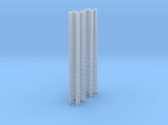 SET 8x Gittermasten (N 1:160) 3d printed