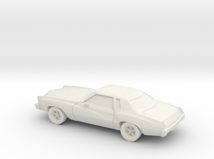 1/64 1973-74 Chevrolet Monte Carlo 3d printed