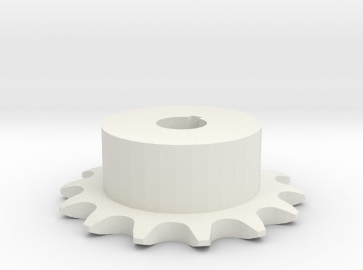 Chain sprocket ISO 05B-1 P8 Z14 3d printed