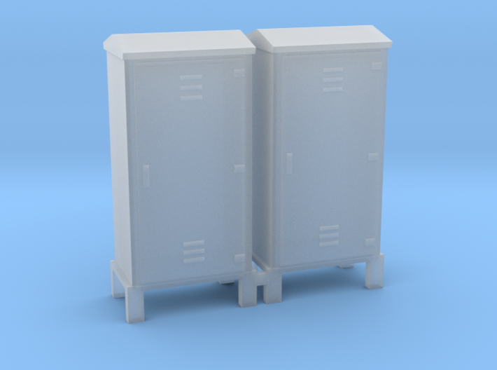 Electrical Cabinet With Legs 1-48 Scale 3d printed
