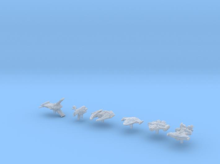 (Armada) Old Republic Transport Set I 3d printed