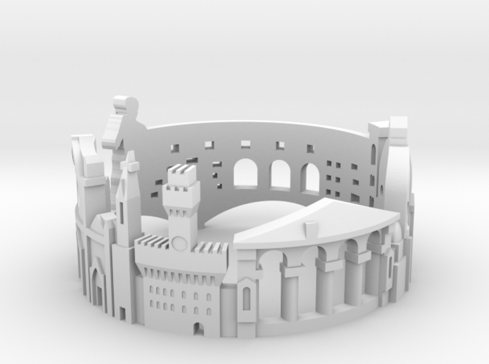 Ring Florence US7 3d printed
