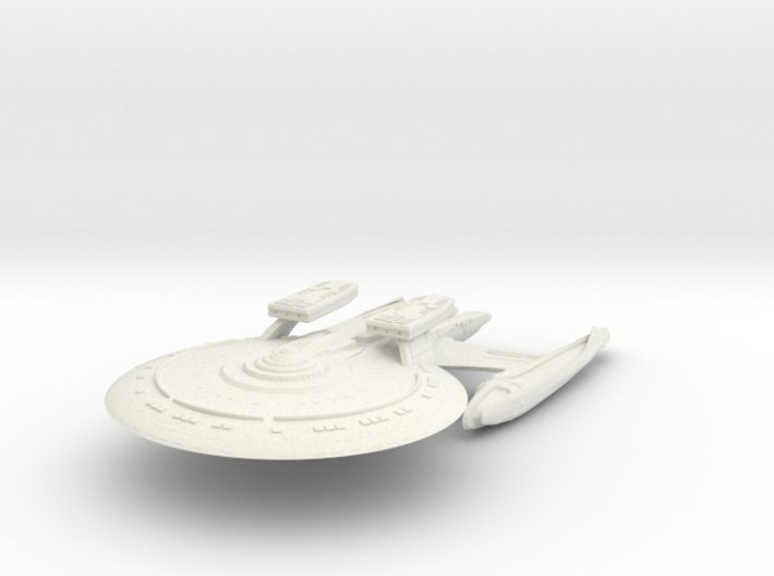 I S S Titan Class VII HvyCruiser 3d printed