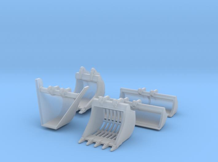 HO - Buckets Set - SALE!- 3d printed