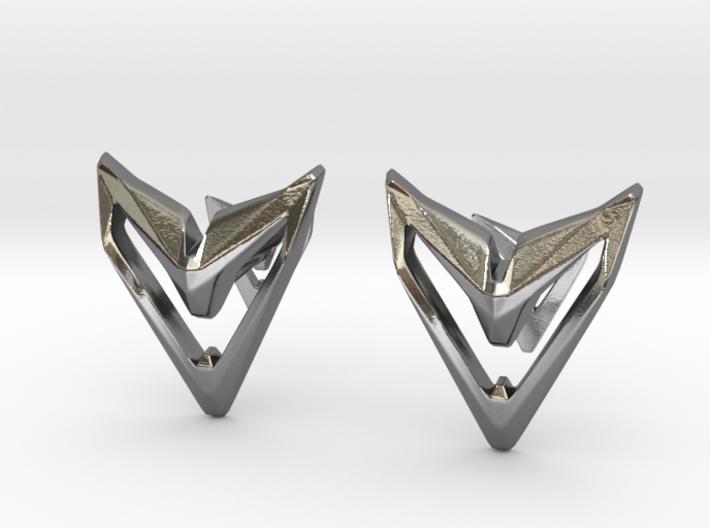 HEAD TO HEAD Entrepreneur, Cufflinks 3d printed