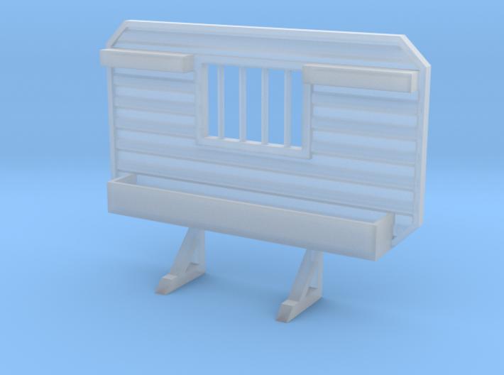 1/87 HO headache rack window chain hangers tray 3d printed