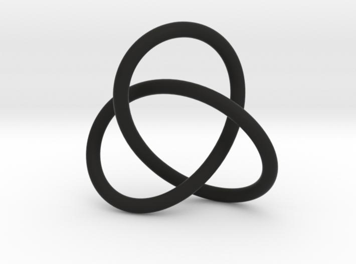 Escher Knot Pendant 3d printed