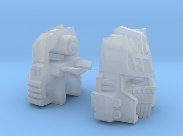 The Veiled Dancer Head - Combiner Version 3d printed