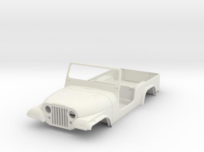 jeep cj8 scramble 1/9 scale 3d printed