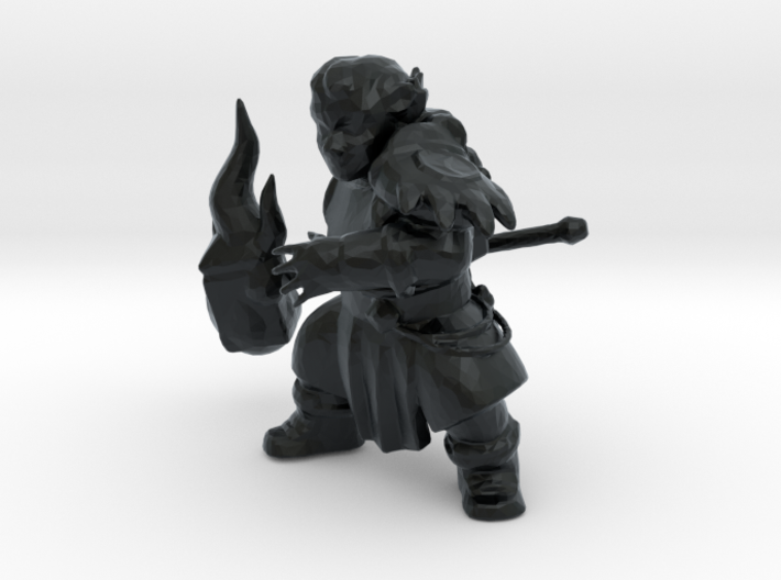 Dwarf Druid 3d printed
