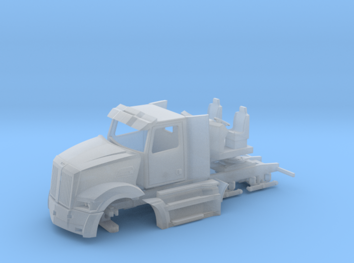 WS 5700 DayCab Flat 3d printed