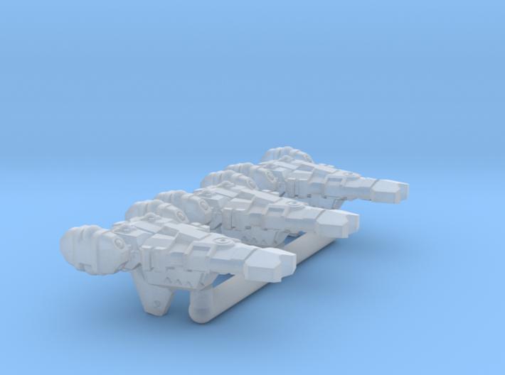 Resolute Class Frigate - 1/20000 3d printed