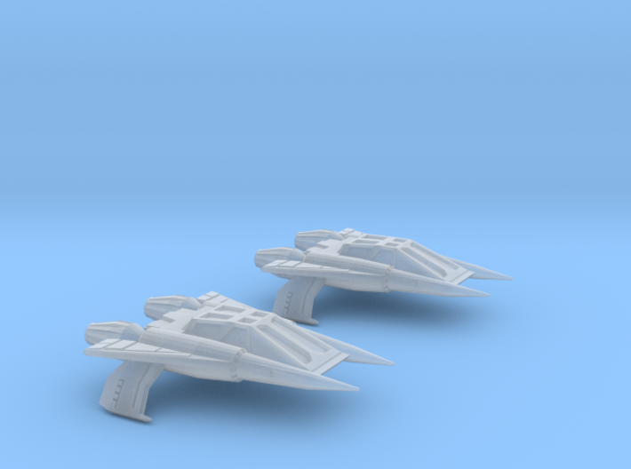 Thunder Fighter Quad20mm 3d printed